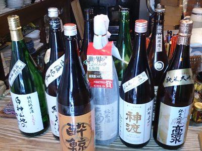 木曜日は純米酒